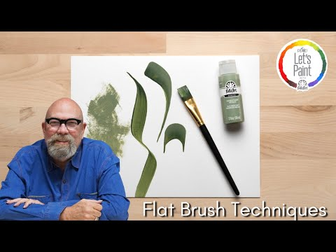Flat Brush Techniques