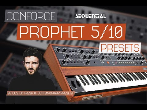 Prophet 5/10 Contemporary Presets by CONFORCE