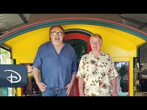 Exploring Walt Disney's Railroad Barn With A Disney Legend   Disney Files On Demand