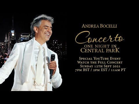 Concerto: One Night in Central Park - teaser