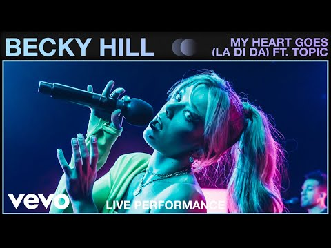 Becky Hill Ft. Topic - My Heart Goes (Live) | Vevo Studio Performance