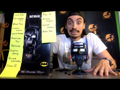 BATMAN LEGO BUILD! with AARON P2