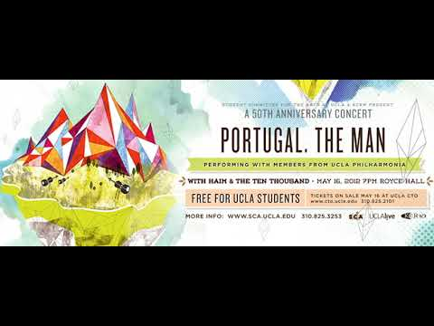 """Portugal. The Man - """"The Sun"""" Live from Royce Hall UCLA"""