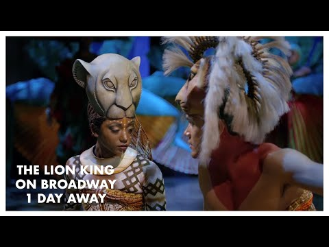 The Lion King Returns to Broadway Tomorrow!