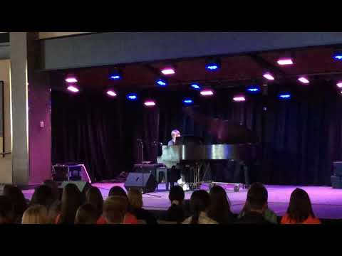 AGT Child Star Hits the Stage at College For New Student Talent Show
