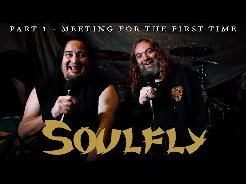 SOULFLY - Part 1: Max Cavalera and Dino Cazares On Meeting For The First Time