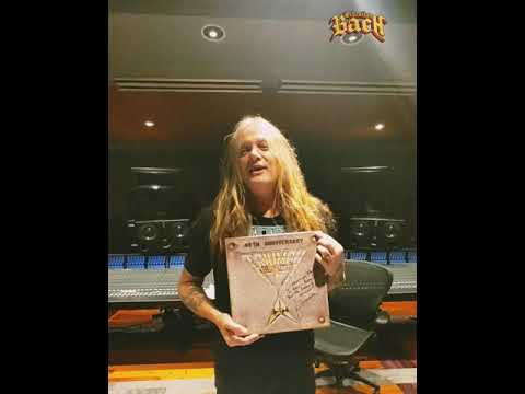 Sebastian Bach Unboxes TRIUMPH 40 Years of Allied Forces Rock N' Roll! THANK YOU ✌️
