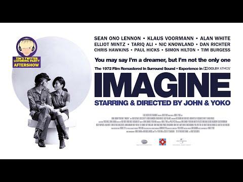 John & Yoko's IMAGINE film Listening Party Aftershow w Sean Lennon, Klaus Voormann, Alan White +more