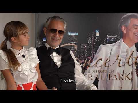 Virginia Interviews Andrea – Concerto: One Night In Central Park (10th Anniversary)