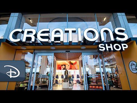 Behind The Scenes Of Creations Shop, EPCOT's New Merchandise Destination | Walt Disney World