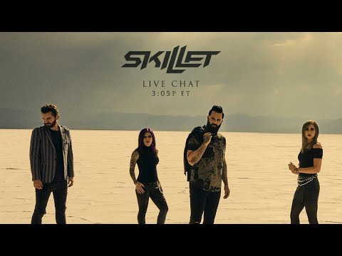 """Skillet """"Surviving the Game"""" Live Chat"""