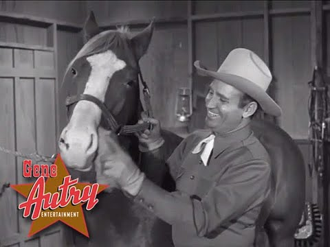 Gene Autry - 'Neath the Blue Montana Skies (TGAS S2E08 - The Bandits Of Boulder Bluff 1951)