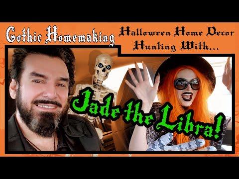 Halloween Home Decor Hunting with Jade the Libra!