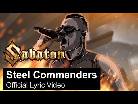 SABATON - Steel Commanders (Official Lyric Video)