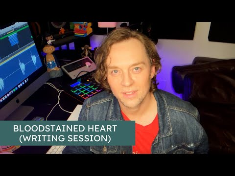 Darren Hayes - Bloodstained Heart (Writing Session)