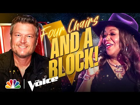 """Wendy Moten's Soulful Take on the Classic """"We Can Work It Out""""   The Voice Blind Auditions 2021"""
