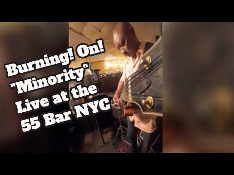 "Gigi Gryce ""Minority"" Live at the 55 Bar NYC #7stringuitar #drums #bass"