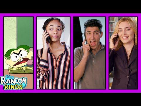 Cricket Calls Zombies | Random Rings | Big City Greens | Zombies | Disney Channel Animation