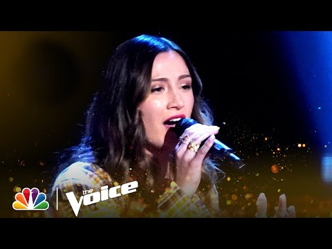 """Camryn B's Brings Her Beautiful Voice to Adele's """"Homegrown Glory""""   The Voice Blind Auditions 2021"""