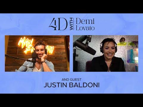 4D with Demi Lovato - Guest: Justin Baldoni