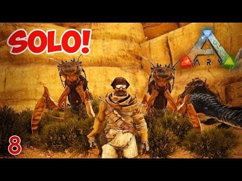 Mantis!!! | Solo! | #ArkSurvivalEvolved #ScorchedEarth | Ep8