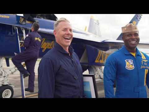 Fulfilled a childhood dream with the U.S. Navy #blueangels! | Old Dominion
