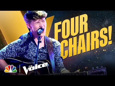 """A Four-Chair Turn as Carson Peters Performs Don Williams' """"Tulsa Time"""" 