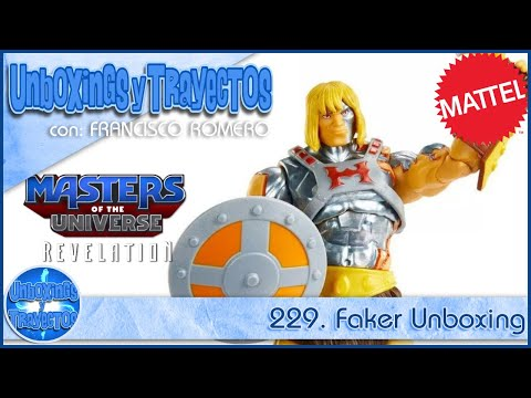 229. Faker Masters of The Universe Revelation Unboxing