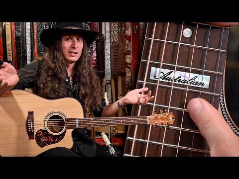 An Acoustic Masterpiece! • Australian Tonewoods are Blowing my Mind!