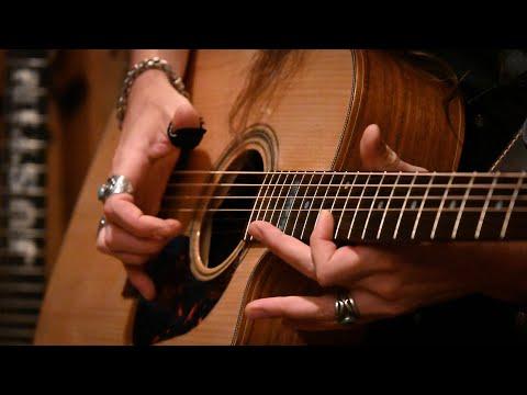 REAL BLUES No. 3 • Fingerstyle Blues on Maton EA80C Acoustic Guitar