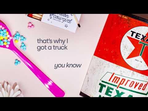 RaeLynn - Why I Got A Truck (feat. Blake Shelton) Lyric Video