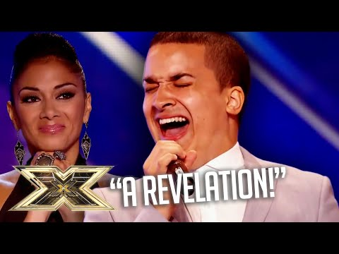 Jahmene Douglas STUNS with INCREDIBLE Etta James cover! | Unforgettable Auditions | The X Factor UK