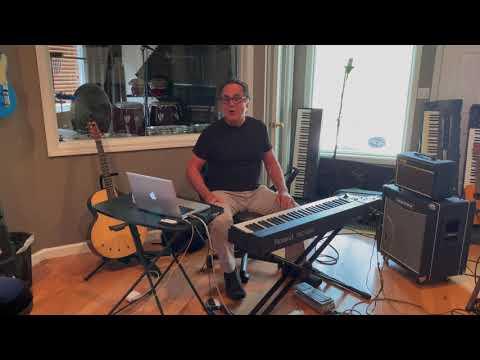 Neal practising for Morsefest 2021