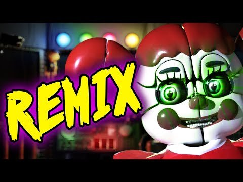"""FNAF SL CIRCUS BABY SONG """"Don't Come Crying"""" (REMIX by Not A Robot) [Visualizer]"""