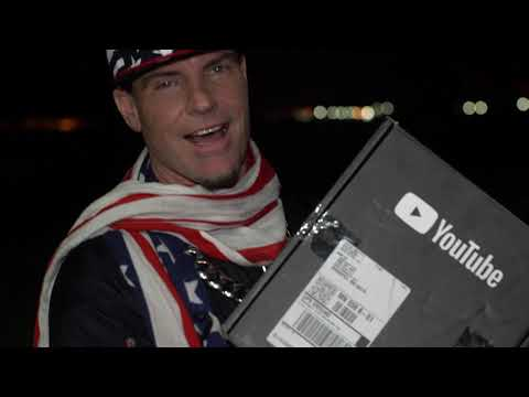 Vanilla Ice Unboxing SILVER PLAY BUTTON! - YouTube 100k Creator Award Unboxing