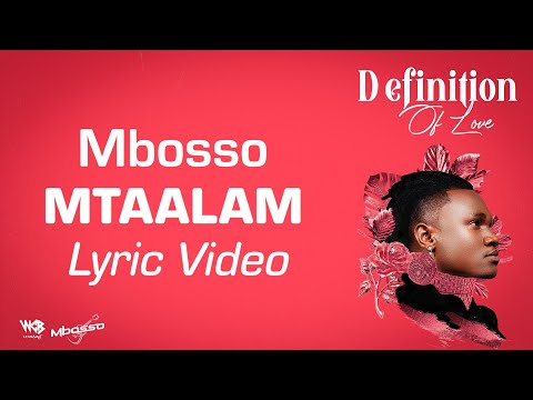 Mbosso - Mtaalam (Lyric Video)