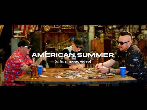 """Moonshine Bandits - """"American Summer"""" ft. Burn County (Official Music Video)"""
