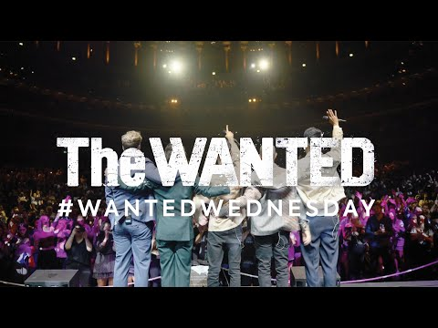 #WantedWednesday - Live at the Royal Albert Hall