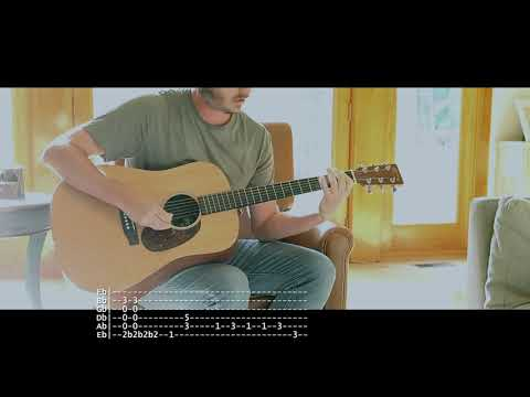 The One You Know - Alice In Chains   Acoustic Cover with Tabs