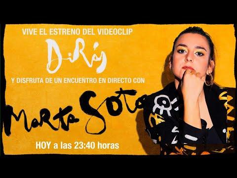 """Encuentro con MARTA SOTO - Estreno del videoclip """"Dirás"""""""