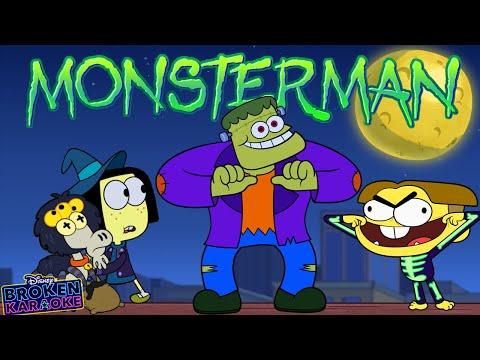Monster Man Broken Karaoke    Big City Greens   Disney Channel Animation