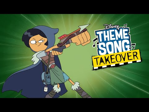 Marcy Theme Song Takeover   Amphibia   Disney Channel Animation