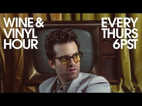 Wine & Vinyl Hour with Mayer Hawthorne (09/30/21)