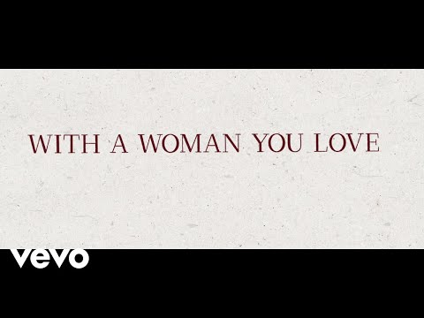 Justin Moore - With A Woman You Love (Lyric Video)