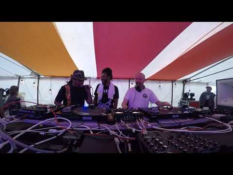 Charlie Dark, Mikey D.O.N & Mr. Scruff 4 hour DJ set, We Out Here Festival 2021