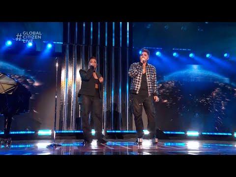 """Demi Lovato and Adam Lambert -  """"Mad World"""" Live Performance in LA   Global Citizen Live 2021"""