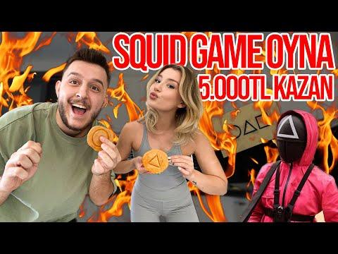 GERÇEK HAYATTA SQUID GAME OYNADIK !! | KAZANAN 5.000 TL ALIR !! |
