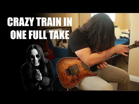 CRAZY TRAIN IN 1 TAKE!