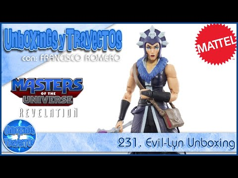 231. Evil-Lyn Masters of The Universe Revelation Unboxing