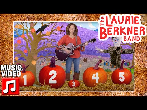 """""""I Picked One Pumpkin"""" by The Laurie Berkner Band   Halloween Kids Song   Counting   Thanksgiving"""